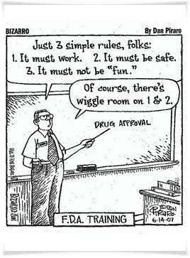 FDA drug approval joke