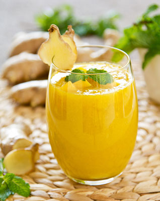 ginger fresh juice for hair loss