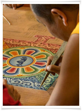 sand painting
