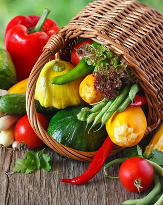 vegetables carry light