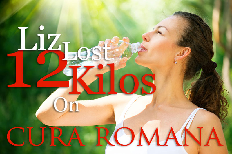 Liz Lost 12 Kg on the Cura Romana Program