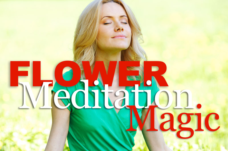 Flower Meditation Magic
