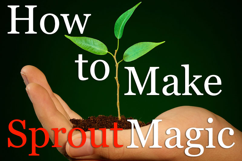 How To Make Sprout Magic