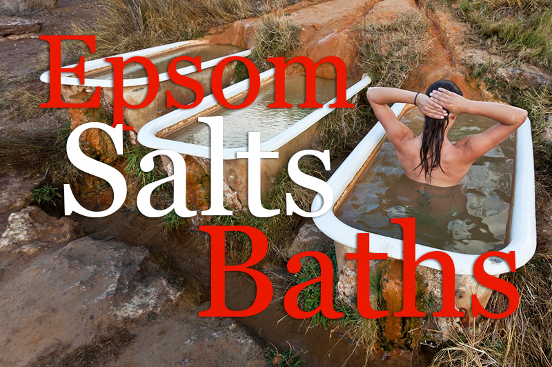 Epsom Salts Baths